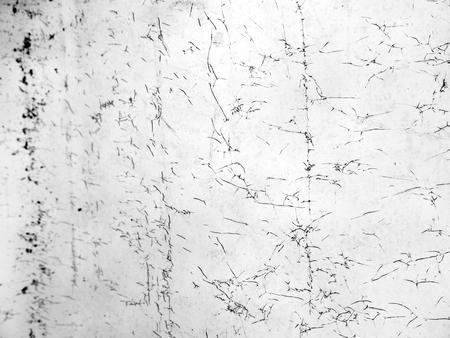 vandalism: crack dirty glass