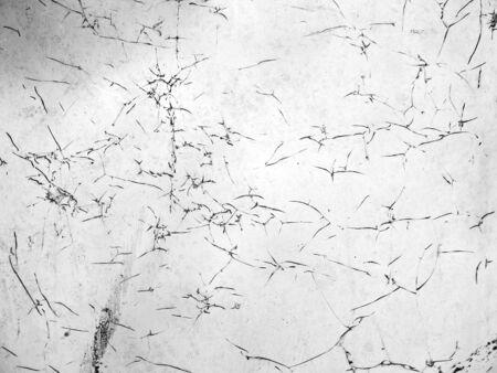crack: crack dirty glass