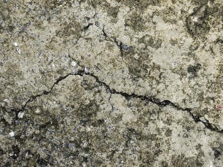 rupture: Cracked concrete texture closeup background