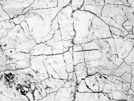 White stone with cracks texture