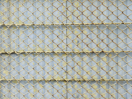 metal mesh: Background of the metal mesh fence
