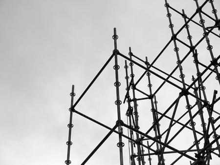 scaffolding elements Archivio Fotografico