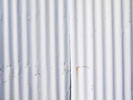 plat: Old damage rusty zinc plat wall