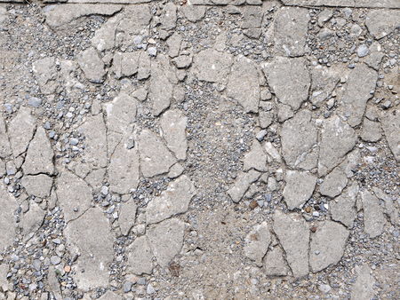 cracked concrete: Cracked concrete floor texture