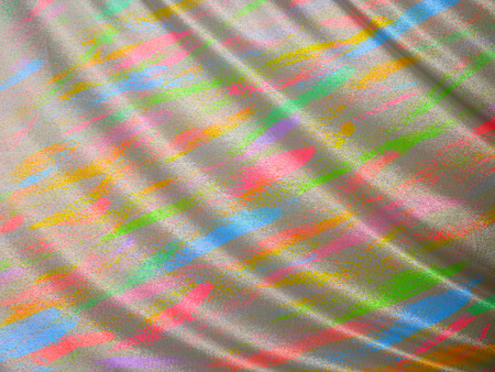 fabric double paint colorful crumpled