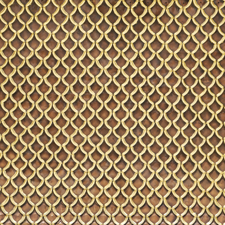 gold metal: gold metal roof background