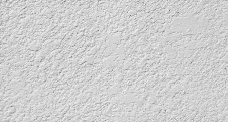 La textura blanca de la pared enyesada
