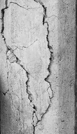 crack: crack wall Stock Photo