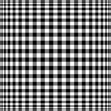 hypnotize: squares - black and white Stock Photo