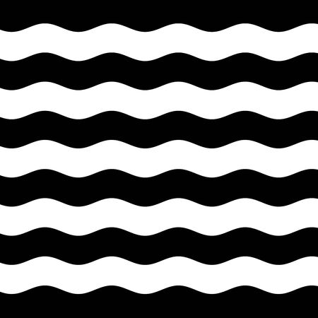 stripes pattern: Abstract wavy stripes textured background. Seamless pattern