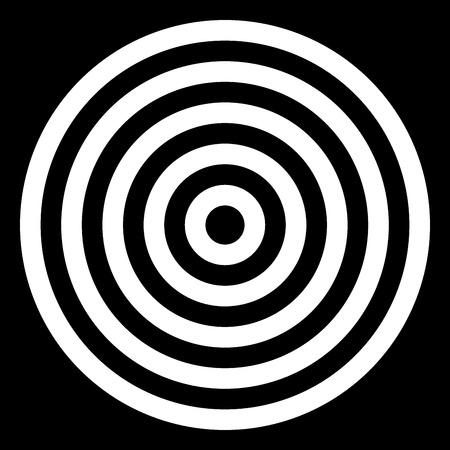 monochrome: Seamless Monochrome Circles Background