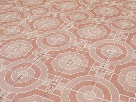tiled: orange tiled floor background