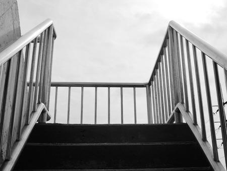 overpass: overpass stairs Stock Photo