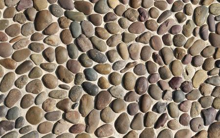 massage stone: Massage stone walkway texture