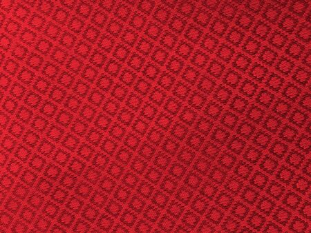 cotton carbon fiber: red fabric cloth background Stock Photo