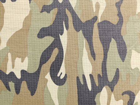 undercover: Fabrics with camouflage pattern. Background