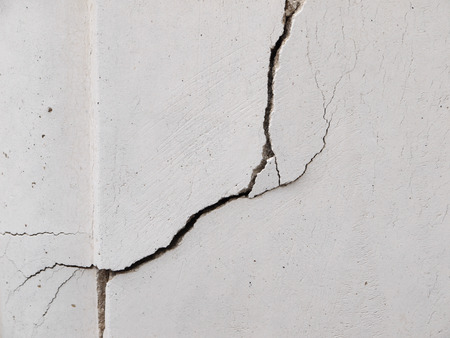 White wall cracks