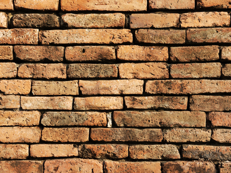 worn structure red: Brick wall background