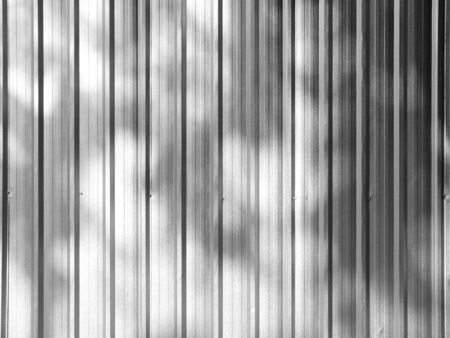 corrugated metal: Corrugated metal texture surface with shadow