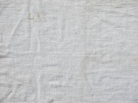 old white fabric cloth texture Standard-Bild
