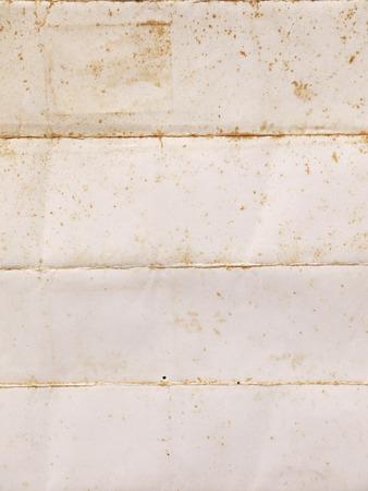 folded paper: Old vintage folded paper texture