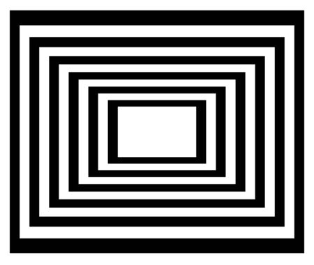 sensory perception: Abstract, hypnotic background.illustration