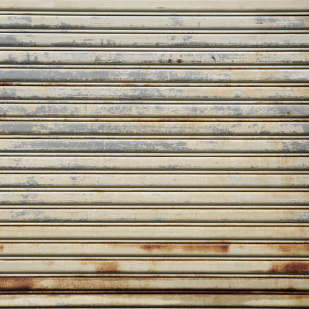 panelling: Background Detail of texture metal door Corrugated Iron Panelling Stock Photo