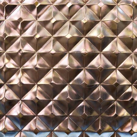 glass block: Glass block wall texture closeup