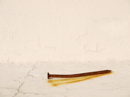 rusty: Rusty nails Stock Photo