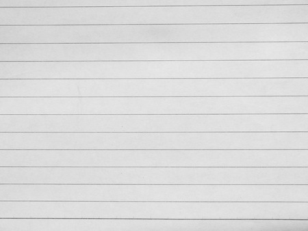 lined: Blank white paper lined Stock Photo
