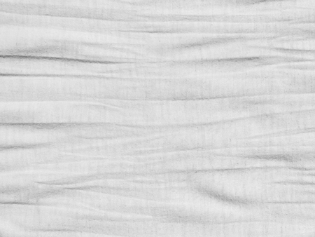 soft furnishing: Crumpled white fabric cloth texture