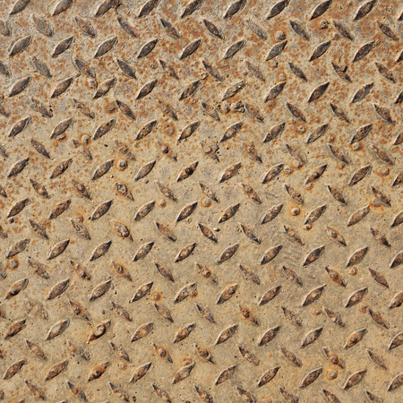Rusted steel plate texture Stock Photo