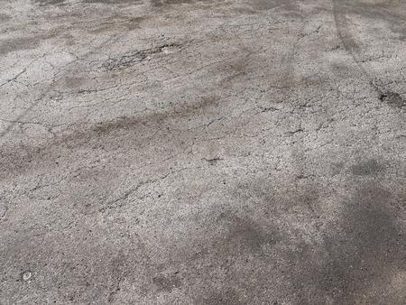 hard drive crash: grunge damage asphalt road