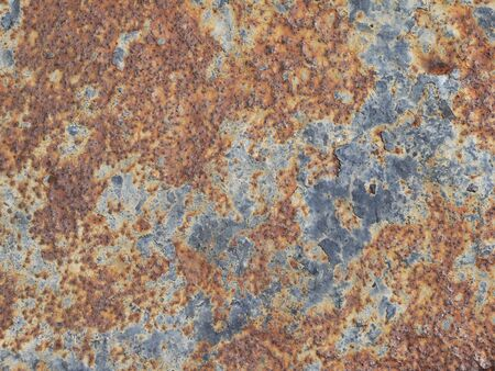 oxidized: Oxidized metal surface making an abstract texture, high resolution