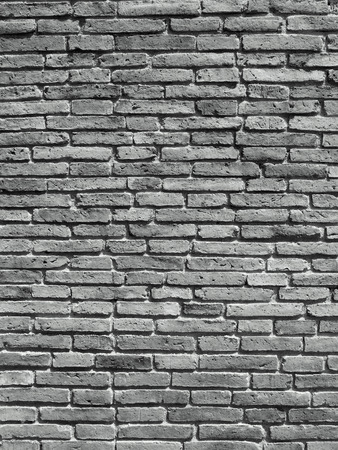 Grey dirty brick wall Stock Photo