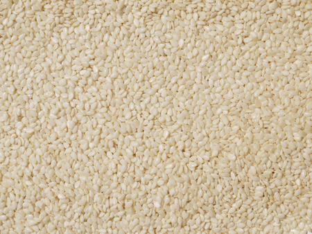 white sesame seeds: White sesame seeds background