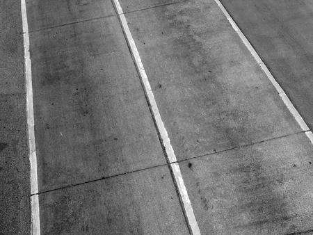 high angle: High angle of the road