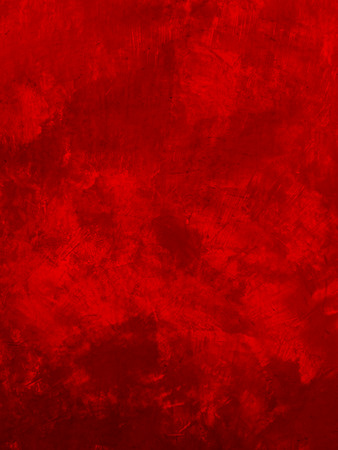 grunge red paint wall Stock Photo