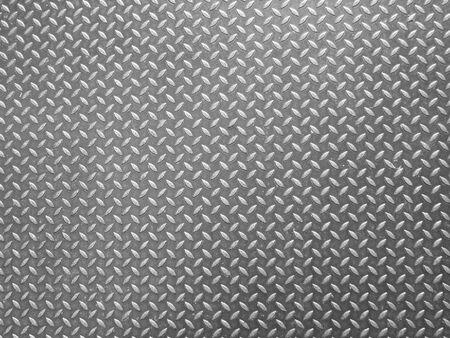 diamond plate: Background of metal diamond plate Stock Photo