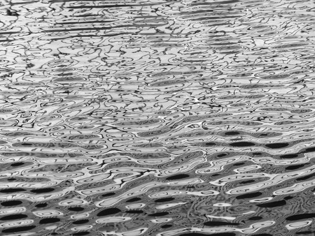 water wave: Abstract water wave reflection