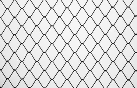 isolation: Decorative wire mesh Stock Photo