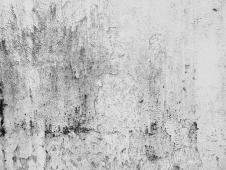 dirty: white old dirty crack wall