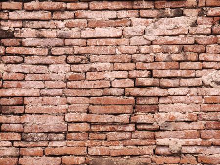 character traits: grunge old brick wall Stock Photo