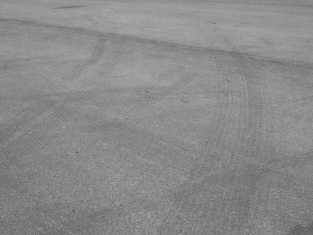 road surface: asphalt road surface wheel track
