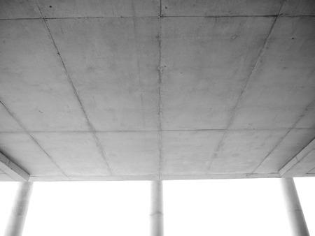 ceiling: concrete ceiling Stock Photo