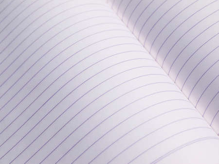 notebook paper: closeup notebook paper with lines Stock Photo