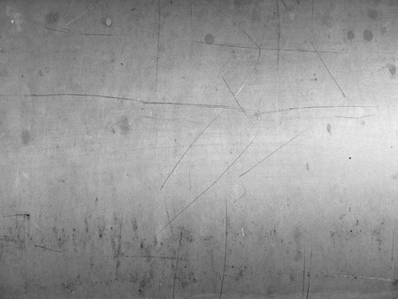 scratched: Scratched metal background