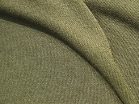 duffel: olive green fabric cloth texture
