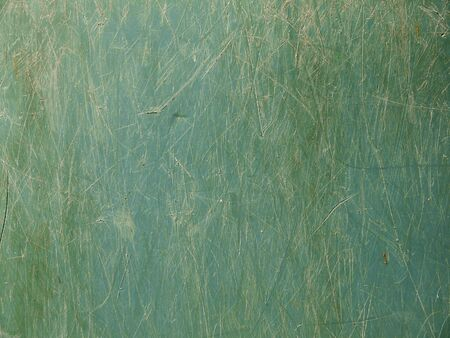 Grunge and dirty stain on the green plastic texture Stock Photo