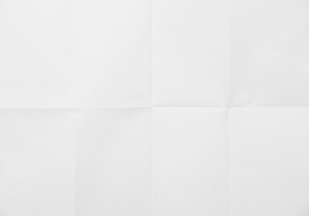 white sheet: White sheet of paper folded texture Stock Photo